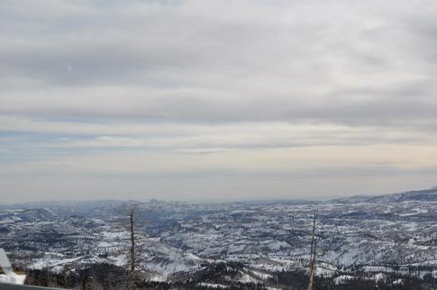 The Colorado Plateau - near 9000 ft